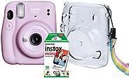 Kit Câmera Instax Mini 11 Fujifilm do Brasil - Lilás Bolsa