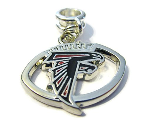 ATLANTA FALCONS OFFICIALLY LICENSED CHARM WITH CONNECTOR