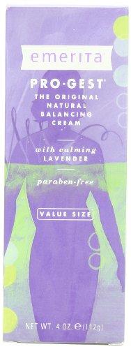 Emerita Pro-Gest Crème Balancing naturel avec de la lavande, 4 once