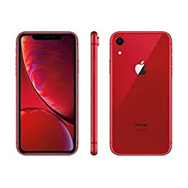 Apple iPhone XR, Boost Mobile, 64GB – Red (Renewed)