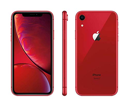 Apple iPhone XR, Boost Mobile, 64GB - Red (Renewed)