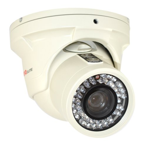 REVO America RETRT700-1 Elite 700 TVL Indoor/Outdoor Turret Surveillance Camera with 150-Feet Night Vision (White) ()