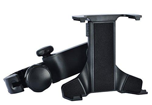 (iSmile) 헤드 레스트 뒷좌석 차량 탑재용 타블렛 홀더 ipad/ipad mini 7-11 인치 대응 360도 회전식
