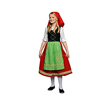 Disfraz de Pastora Roja en varias tallas para niña: Amazon.es ...