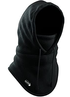 Self Pro Balaclava Fleece Hood - Windproof Ski Mask - Heavyweight Cold Weather Winter Motorcycle, Ski & Snowboard Gear - Ultimate Protection from the Elements