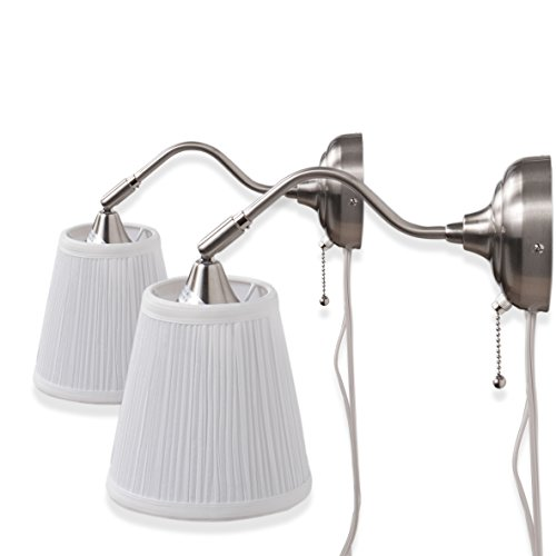 Contemporary Wall Lamp, Set of 2 … -