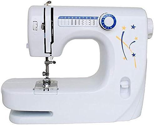 GSKTY Máquina de coser escritorio multifuncional hogar eléctrico miniatura 33.5 * 14 * 24 cm: Amazon.es: Hogar