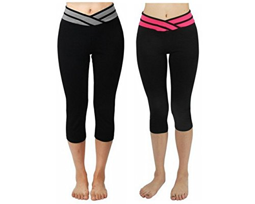 4How Womens Capri Tights Workout