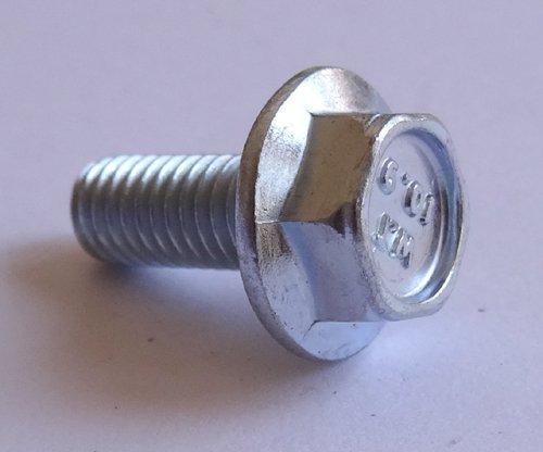 M5 - 0.8 x 12mm JIS Hex Head Flange Bolt - Small Head, Clas