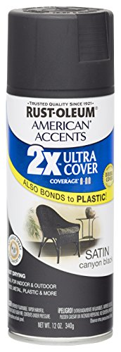 rust-oleum-280706-american-accents-ultra-cover-2x-spray-paint-satin-canyon-black-12-ounce