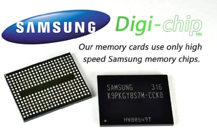Digi-Chip 8GB Class 10 Micro-SD Memory Card for HTC One M8 HTC Butterfly S 8XT and One Max cell phone