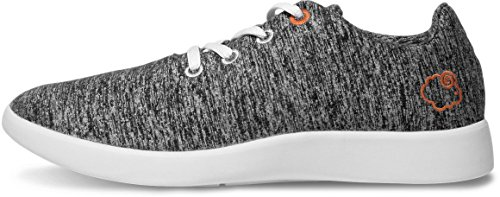 Wool by Shoes Le Merino Lightweight Unisex Dark Grey Mouton 4XqwzwYxrE