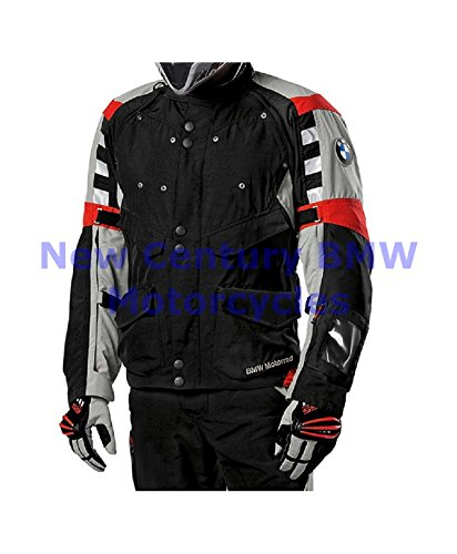 Bmw Riding Jackets - BMW Genuine Motorcycle Men Rallye Riding Jacket Black/Red US 50 Euro 60