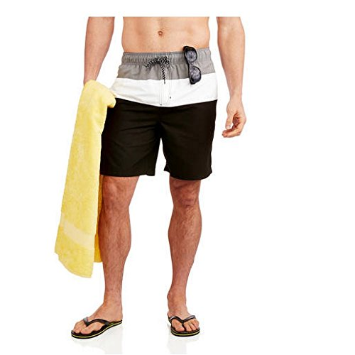 ocean-pacific-op-elastic-waist-colorblock-board-swimming-shorts-xxxx-large-black-combo