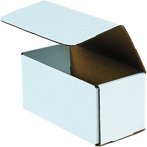 """Hot Aviditi M866 Crush Proof Corrugated Mailer, 8"""" Length x 6"""" Width x 6"""" Height, Oyster White (Bundle of 50) supplier"""