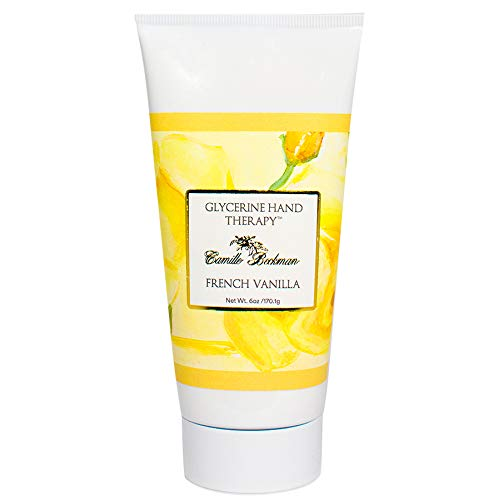 Camille Beckman Glycerine Hand Therapy, French Vanilla, 6 Ounce