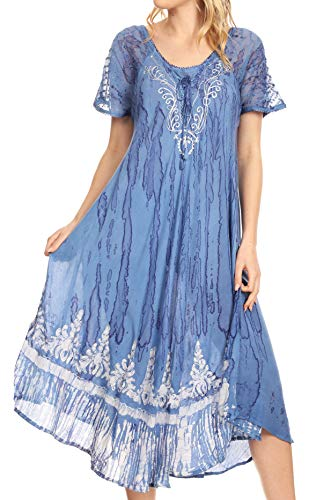 Embroidered Caftan - 4