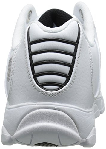 outlet pick a best K-Swiss Men's ST329 CMF Training Shoe White/Black/Silver cheap official site tumblr cheap online discount official site CairH35w9P