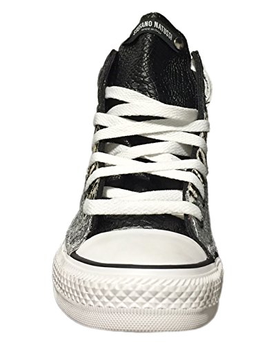 Unisex High Stefano Natussi Silver Adults' Trainers 5tx7fqw