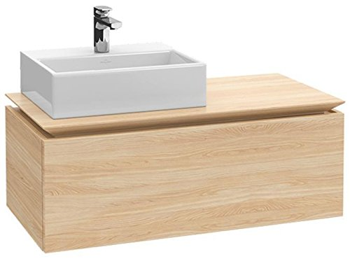 Villeroy + Boch Waschtischunterschrank Legato B107L0 1000x380x500 Santana Oak, B107L0E1