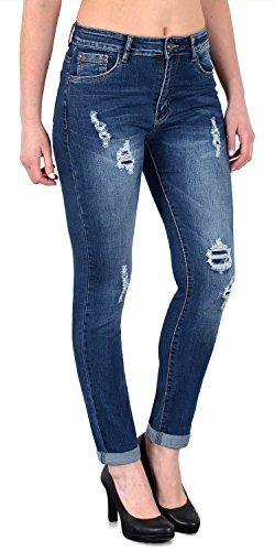 by-tex Jean femme pantalon en jean femme Jeans taille haute - grande taille 34, 36 .. 54, 56 # J27 J377