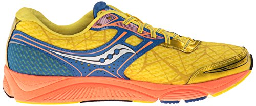 Saucony Breakthru Running Shoe Yellow / Blue / Orange