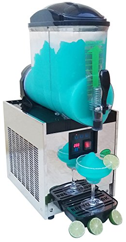 Brand : BRAVO ITALIA, 1 Bowl Margarita Machine 3.2 gallons bowl, 50 CUPS,COMMERCIAL GRADE MACHINE, Slushie Machine, Margarita Maker, Slushie Maker, Slushy Machine