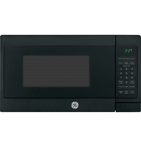 GE 0.7 cu. ft. Countertop Microwave Oven Black 700 Watts JEM