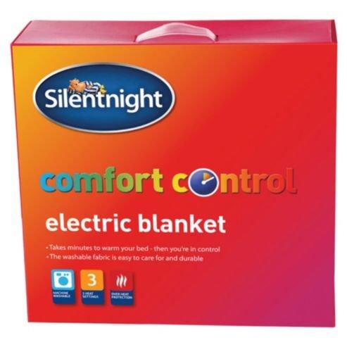 6f0c8235676 Silentnight Comfort Control Single Electric Blanket 65cm x 135cm   Amazon.co.uk  Kitchen   Home
