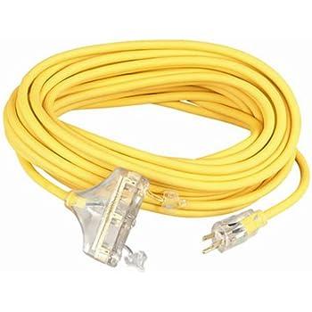 coleman cable 03482 12 3 wire gauge tri source seow polar. Black Bedroom Furniture Sets. Home Design Ideas