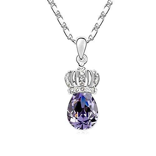 Diamond Accent Crown Necklace - 4