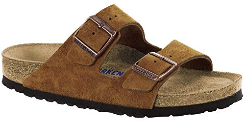 Birkenstock New Women's Arizona SF Slide Sandal Mink Suede 37 N
