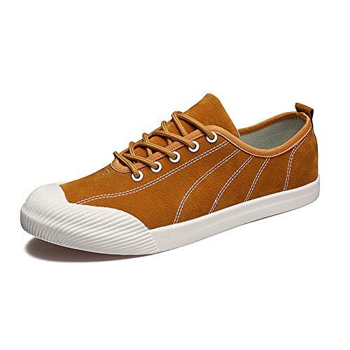 Lixus Schuhen Mode - Casual Schuhen Lixus Klassische Leinwand Schuhe Mens Witz Hat Schuhe,Gelb,40 e1e1e2
