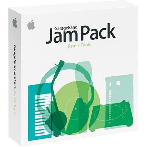 Picture of an Apple Garageband Jam Pack Remix 885909096787,8859090967876