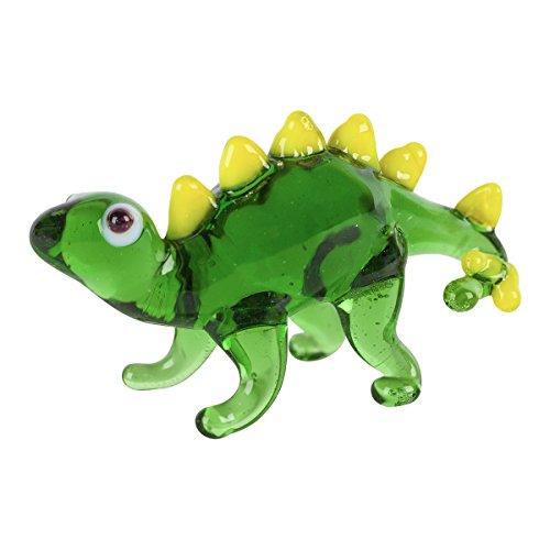 s Figurine with Collector's Frame - Jake Stegosaurus Dinosaur - Green1.9