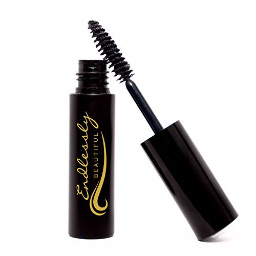 All Natural Organic Mascara | Brown | Vegan & Cruelty Free | For Lash Growth, Lengthening and Volume | Best Gluten Free Eyelash Conditioning Eye Makeup | Volumizing & Washable (Brown Eye Mascara)