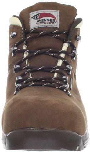 Avenger 7156 Womens Nubuck Comp Toe Eh Escursionismo Scarpa Cioccolato