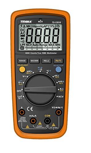 TENMA - 72-13510 - DMM, Handheld, True RMS, 10A, 600V