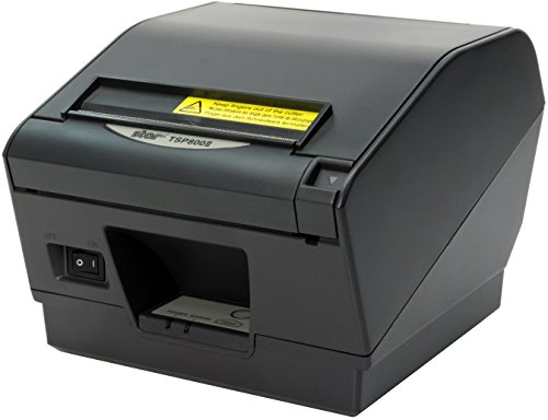 Star Micronics Ultra High Speed TSP847IIC Parallel Thermal Receipt Printer with Auto-cutter/Tear Bar - Gray by Star Micronics America