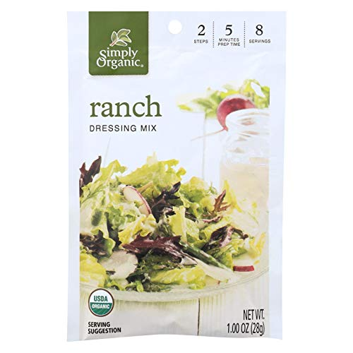 Organic Ranch - Simply Organic Ranch Salad Dressing Mix, 1 Ounce - 12 per case.