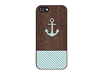 SUUE wood anchor Custom Hard Case for iPhone 4 4s Durable Case Cover