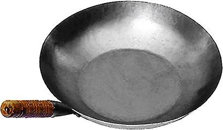 Fer Gris JADE TEMPLE Wok Po/êle en Fer Gris Durchmesser 30 cm