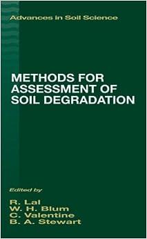Methods for Assessment of Soil Degradation (Advances in Soil Science)