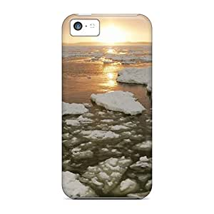 Premium Protection Churchill River At Sunset Manitoba Canada Cases Covers For Iphone 5c- Retail Packaging