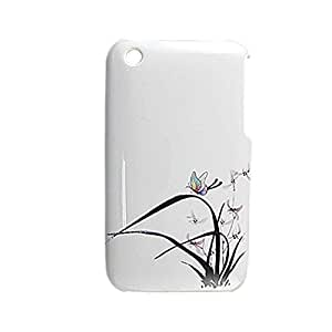 Imprimir las plantas de plástico duro caso Cvoer para el iPhone 3G