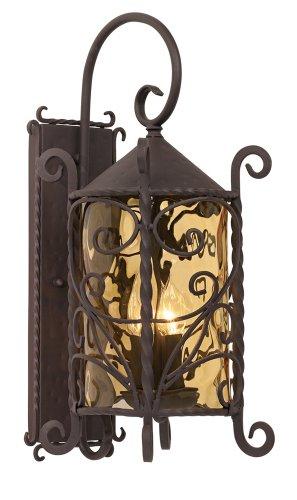 Casa Seville Iron Scroll Outdoor Light in US - 1
