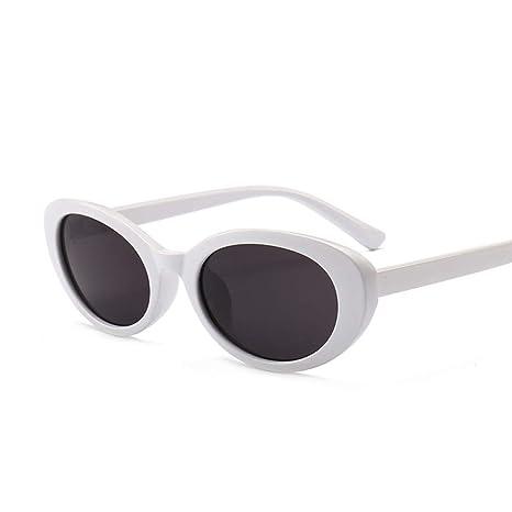 Yangjing-hl Gafas de Sol Gafas ovales pequeñas Gafas de Sol de ...