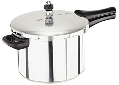 Manttra 4 Quarts Aluminum Pressure Cooker from Mercantile International