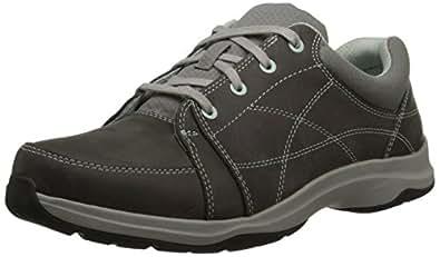 Ahnu Women's Taraval Walking Shoe, Charcoal Grey, 5 M US