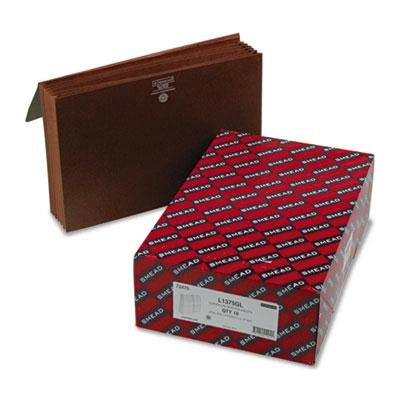 Smead - 5 1/4'' Accordion Expansion Wallets With Cord Six Pocket Redrope Legal 10/Box ''Product Category: File Folders Portable & Storage Box Files/Expanding Files & Wallets''